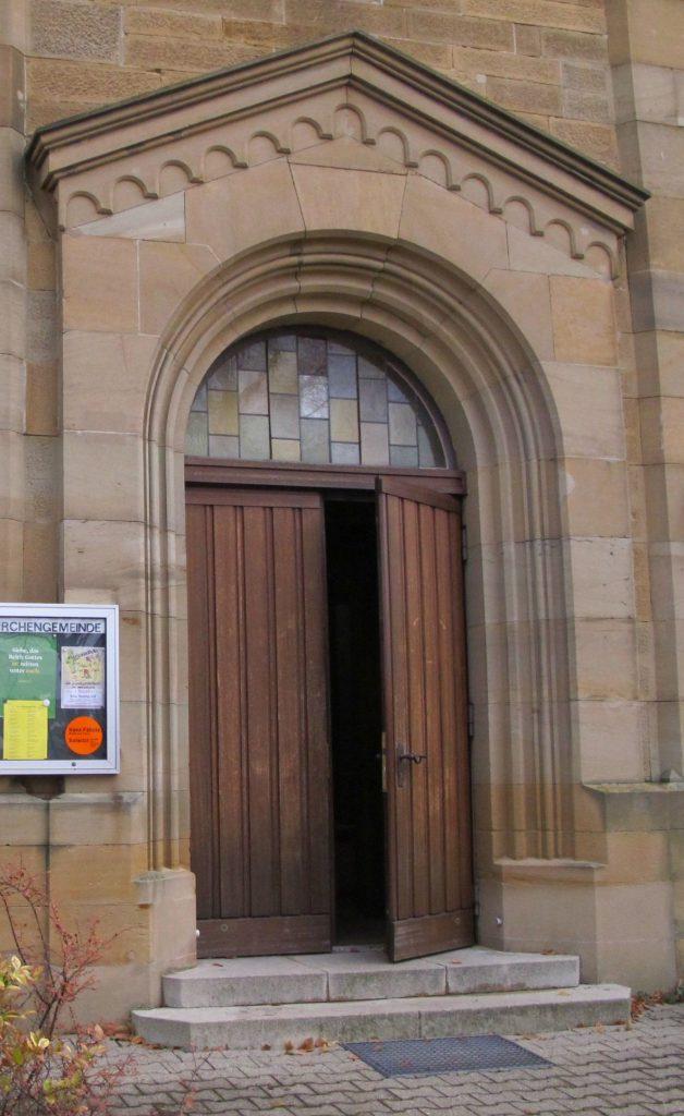 Kirche Wieder Eintreten